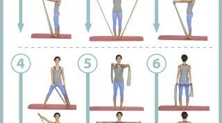 Aprende a tonificar y potenciar tus brazos y hombros con theraband