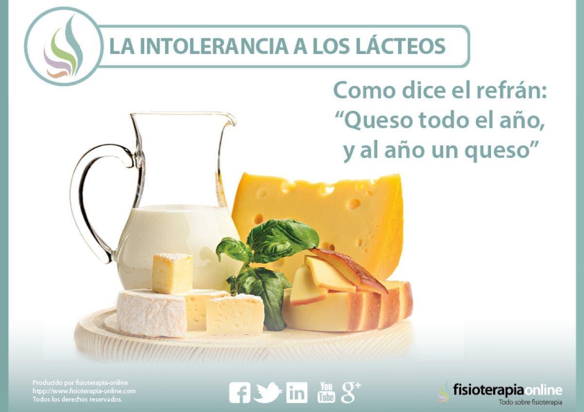 La intolerancia a los lácteos y derivados