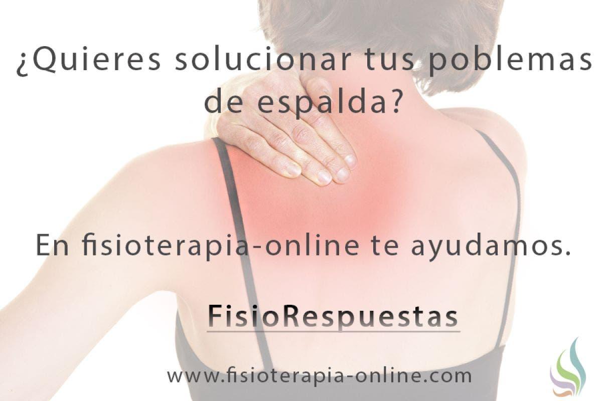 El fisioterapeuta, el profesional de tus dolores de espalda y alteraciones funcionales