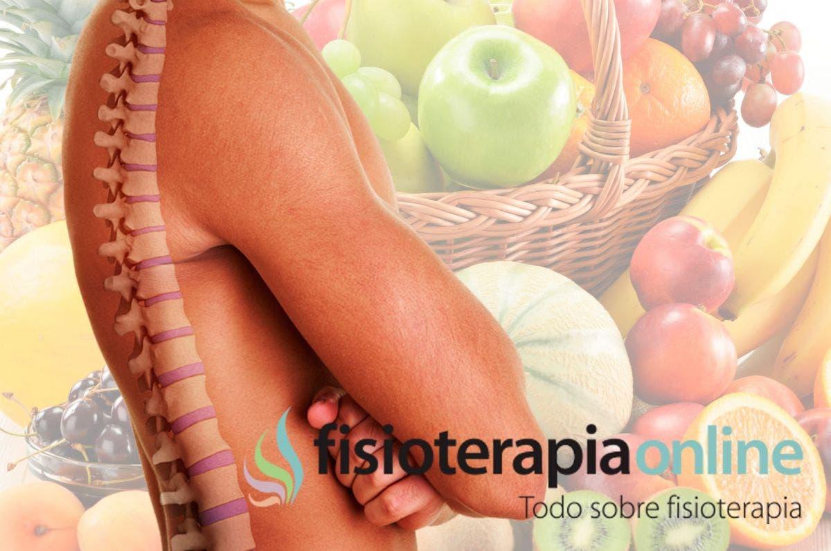 La alimentación, el camino hacia una espalda sana y una vida equilibrada