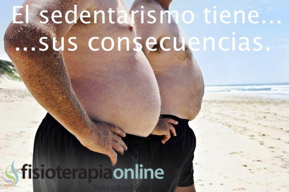 Consecuencias del sedentarismo, sobrepeso, alteraciones cardiovasculares, dolores musculares y mucho mas