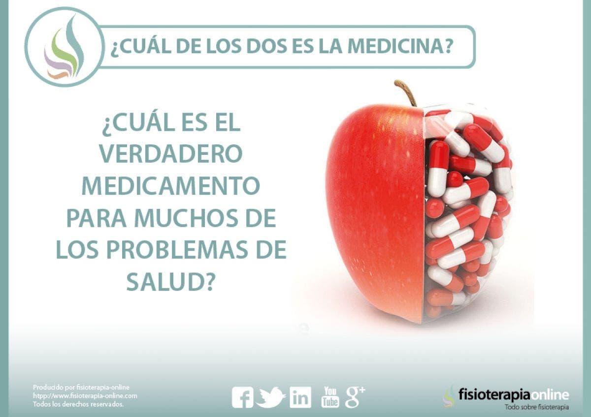 ¿Cuál es el verdadero medicamento para muchos de los problemas de salud?