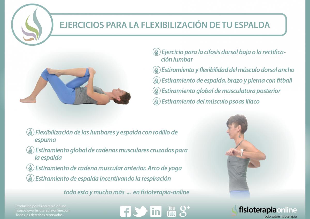 Flexibiliza tu espalda