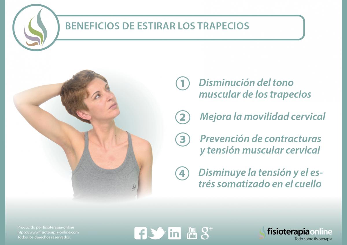 Estira el trapecio y mejora tu dolor de cuello y espalda | FisioOnline