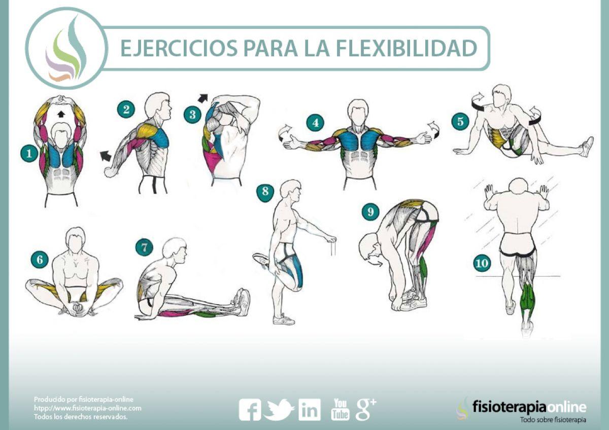 Ejercicios para mejorar tu flexibilidad y cuidar tu salud