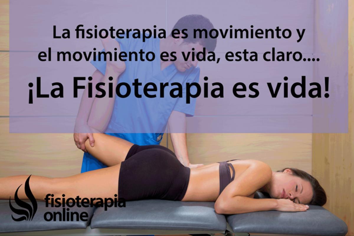 Fisioterapia es ciencia y es arte, fisioterapia es vida