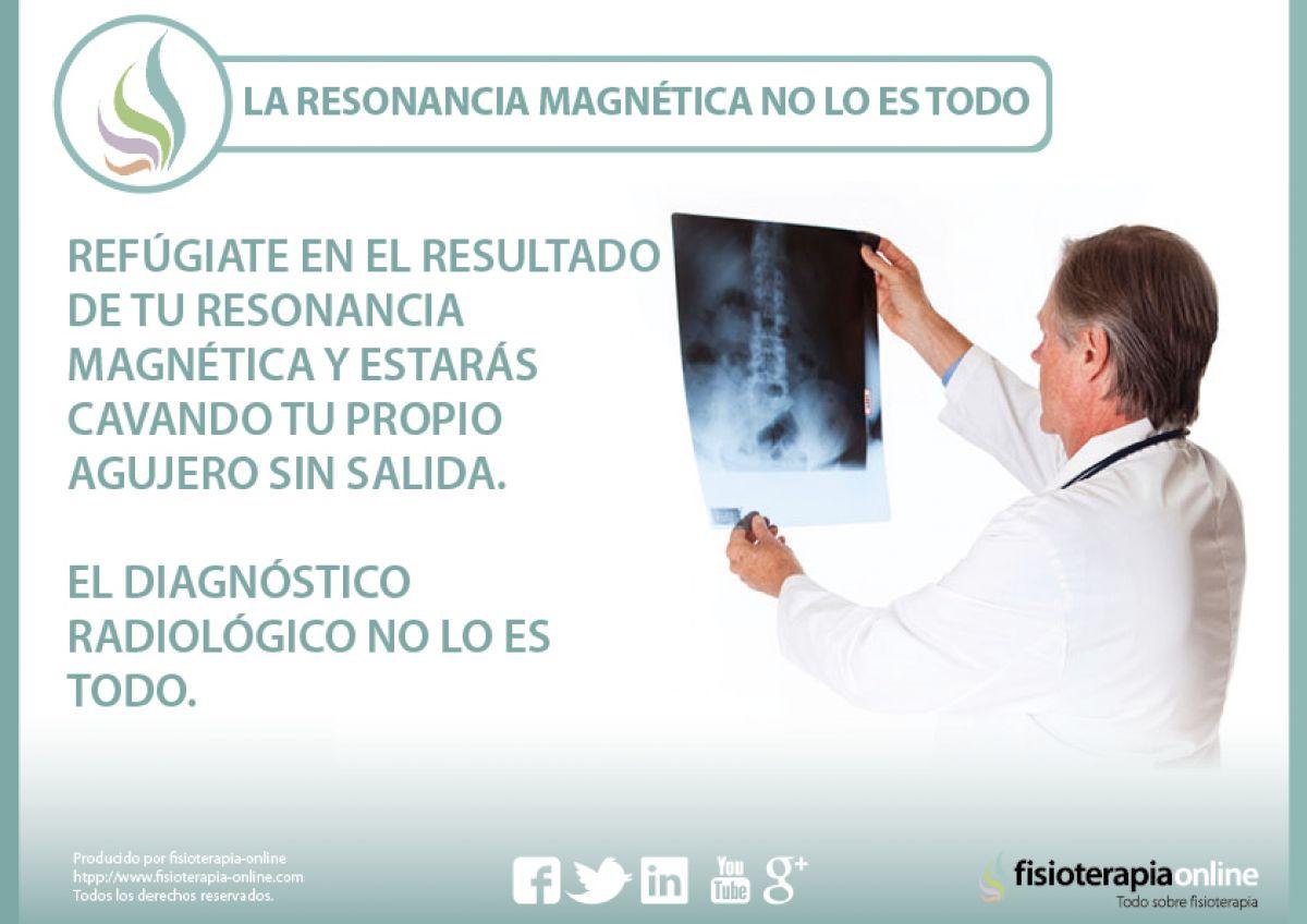 El diagnóstico con radiografías y resonancias no lo sabe todo