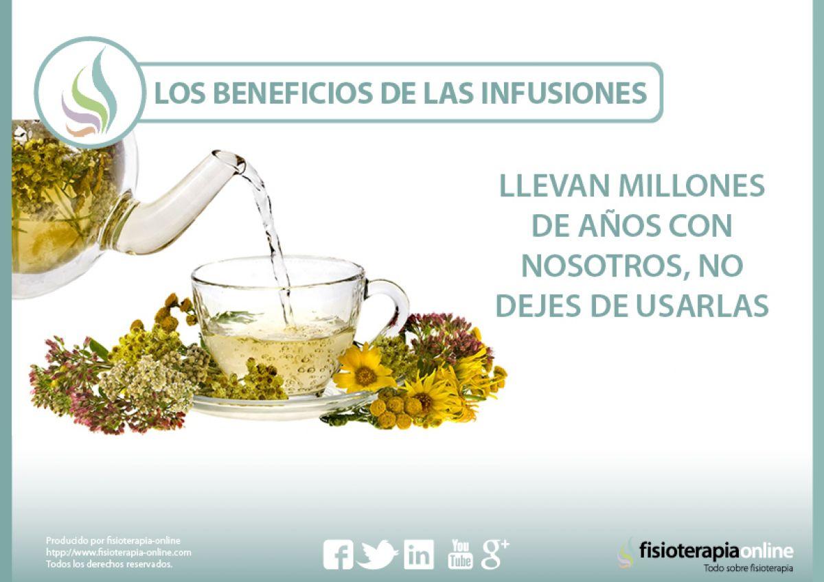 Los beneficios de las infusiones