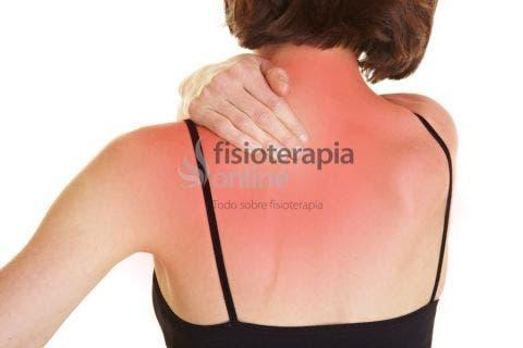 bulto en la espalda en el omoplato