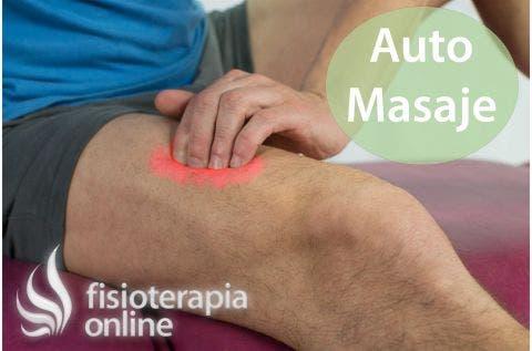 Auto-masajes para las piernas, caderas, muslos y glúteos