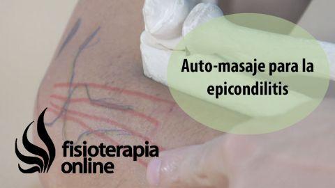 Auto-masajes para hombro , codo , mano y brazo