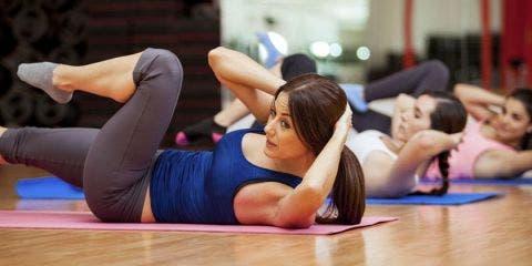 buena estabilidad lumbar y abdominal