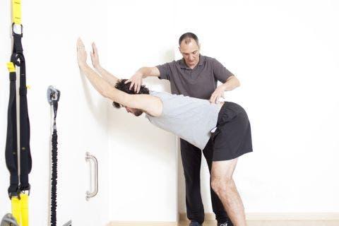 Estiramientos de espalda, lumbares y dorsales