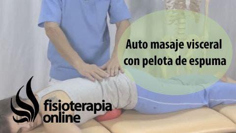 Auto-Masaje de espalda, vientre, tripa, lumbares y dorsales