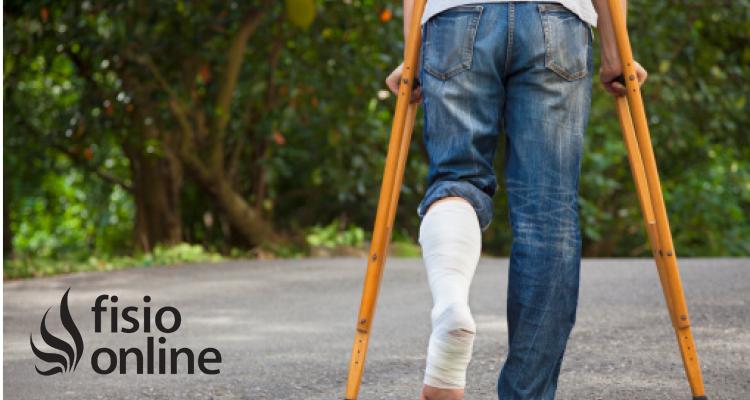 ¿Cómo usar las muletas en caso de fracturas de tibia?