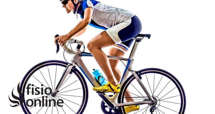 dolor rodilla al montar en bici