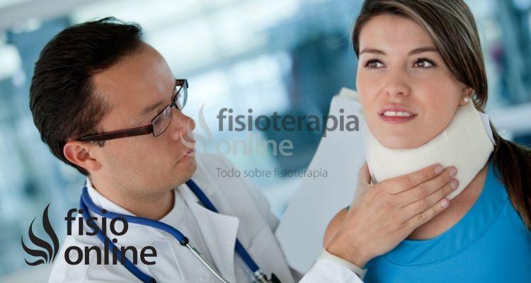 Esguince o Latigazo cervical. Una lesión muy molesta y difícil de curar