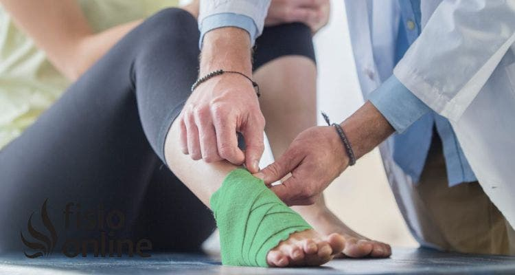 ¿Cuáles son las técnicas de fisioterapia usadas en caso de fracturas distales de peroné?