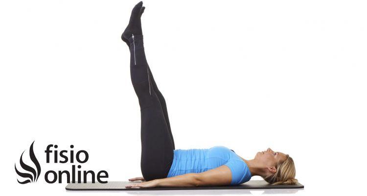La elevación de piernas. ejercicio perjudicial para el dolor lumbar