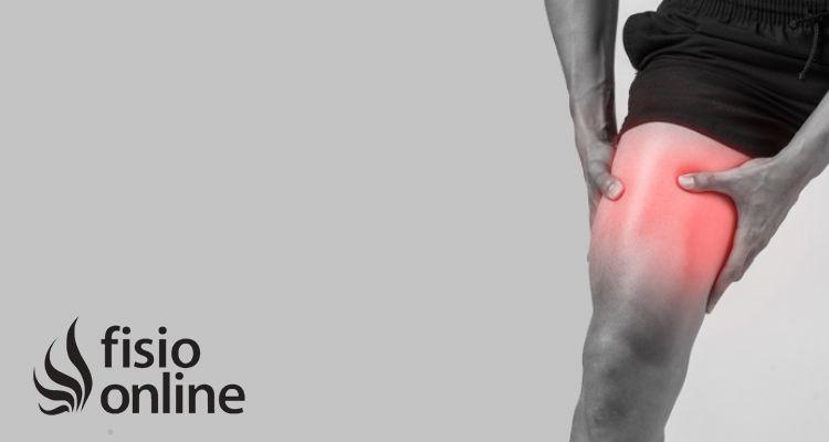¿Qué técnicas de fisioterapia se utilizan durante la fase aguda de la rotura del recto anterior?
