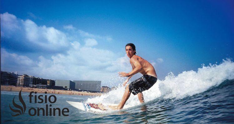 Lesiones más frecuentes en el surf. Causas y prevención en fisioterapia