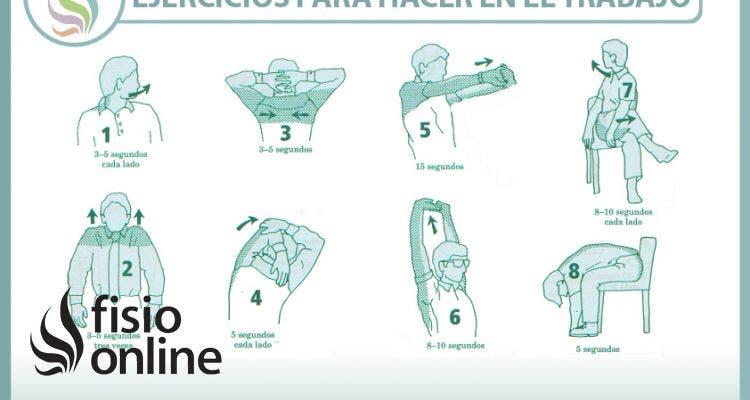 No te quedes tieso, practica estos estiramientos en el trabajo para cuidar tu espalda