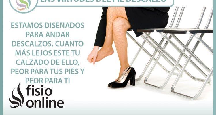 Las virtudes del pie descalzo
