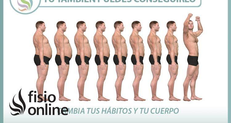 Cambiar tus hábitos y tu cuerpo. Tú también puedes!!