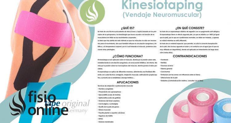 Kinesiotaping o Vendaje neuromuscular. Mucho más que una moda