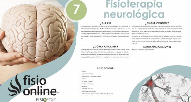 Fisioterapia neurológica. Todo lo que puede hacer por ti cuando lo necesites