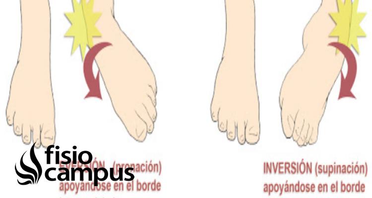 inversión del pie