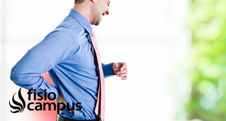 Mejorar la postura corporal para mejorar el dolor lumbar.