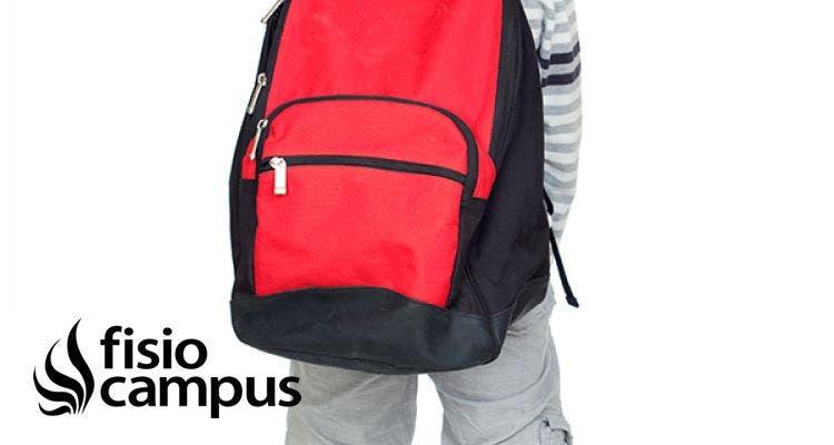 ¿Qué mochila deben usar mis hijos?