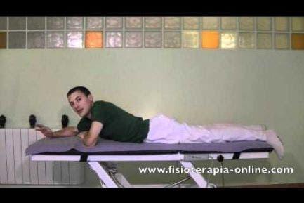 Ejercicio de reprogramación y fortalecimiento para la espalda.