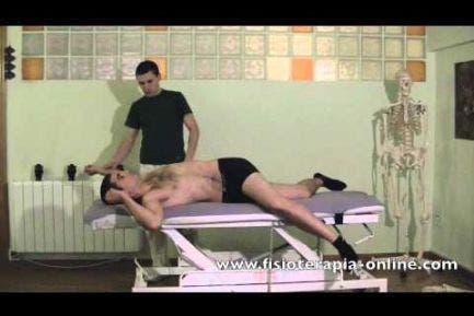 Estiramiento cad cruzadas pierna, columna y brazo