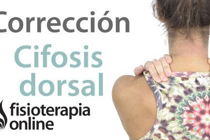 Corregir la cifosis dorsal y la postura corporal contra la pared
