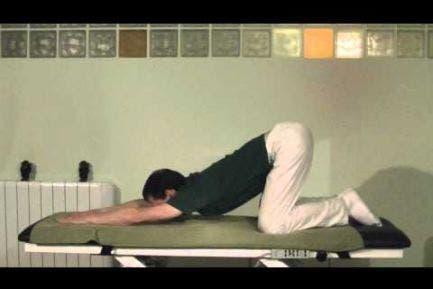 Ejercicio de movilidad y flexibilidad lumbar - Gato + Mahometano.