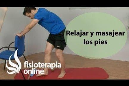 Ejercicios para relajar y masajear los pies
