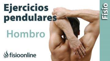 Ejercicios pendulares para el dolor de hombro