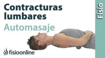Auto-masaje para aliviar contracturas en la zona lumbar y glútea
