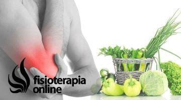 Alimentación, nutrición y consejos dietéticos para la epicondilitis o codo de tenista.