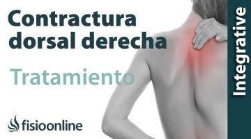 Curación de contractura dorsal derecha crónica. Caso clínico real