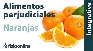 Alimentos perjudiciales para tu espalda: Naranjas y mandarinas.