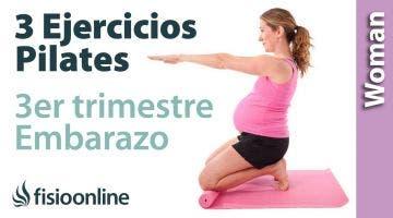 3 ejercicios de Pilates en embarazo tercer trimestre