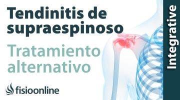 Tratamiento de la tendinitis de hombro o supraespinoso izquierda