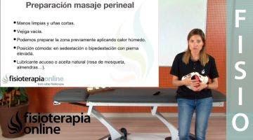 Pautas para el masaje perineal
