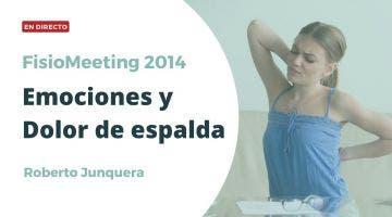 ¿Cómo influyen las emociones en el dolor de espalda? - FisioMeeting 2014 - Roberto Junquera