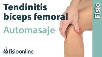 16. Auto-masaje para la tendinitis isquiotibiales.
