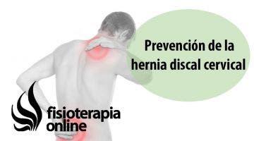 Prevención de la hernia discal cervical