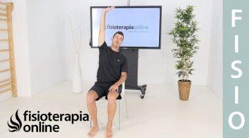 Estiramiento de pecho para prevenir la hipercifosis dorsal